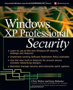 Windows XP Professional Security-cover