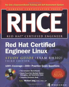 RHCE Red Hat Certified Engineer Linux Study Guide, 3/e-cover