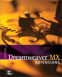 Dreamweaver MX Extensions (Paperback)-cover