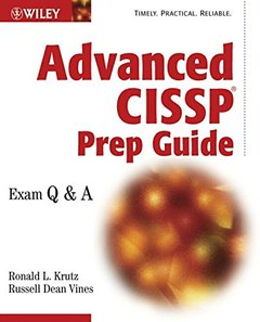Advanced CISSP Prep Guide: Exam Q & A (Paperback)-cover