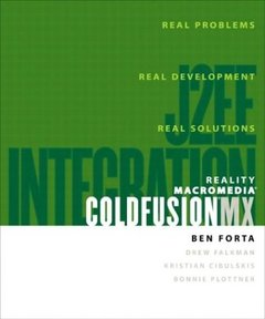 Reality Macromedia ColdFusion MX: J2EE Integration-cover