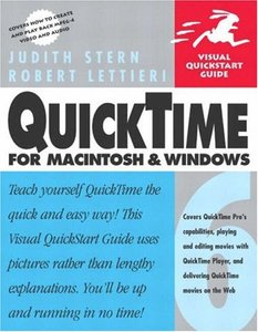 QuickTime 6 for Macintosh and Windows: Visual QuickStart Guide (Paperback)-cover