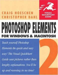 Photoshop Elements 2 for Windows and Macintosh : Visual QuickStart Guide (Paperback)-cover