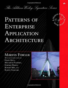 Patterns of Enterprise Application Architecture (Hardcover)-cover