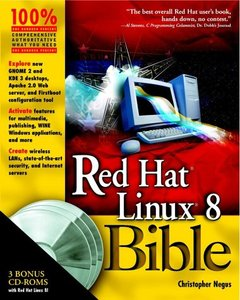 Red Hat Linux 8 Bible-cover