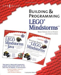Building and Programming LEGO Mindstorms Robots Kit-cover