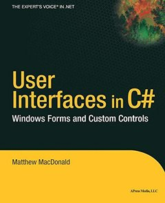 User Interfaces in C#: Windows Forms and Custom Controls-cover