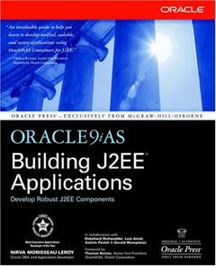 Oracle9iAS Building J2EE Applications (Paperback)-cover