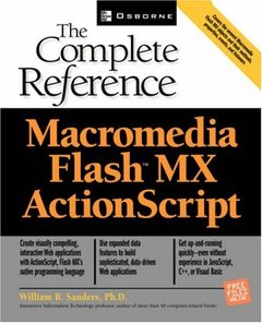 ActionScript: The Complete Reference (Paperback)-cover