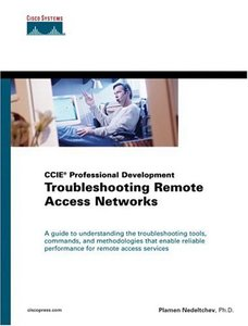 CCIE Professional Development Troubleshooting Remote Access Networks-cover