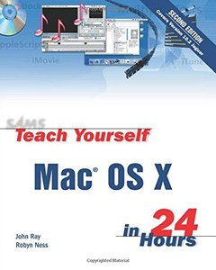 Sams Teach Yourself Mac OS X in 24 Hours, 2/e-cover