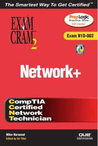 Network+ Exam Cram 2 (Exam Cram N10-002), 2/e (Paperback)-cover