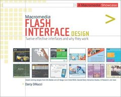 Macromedia Flash Interface Design: A Macromedia Showcase-cover