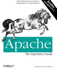 Apache: The Definitive Guide, (3RD ed.)-cover