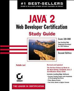 Java 2 Web Developer Certification Study Guide, 2/e-cover