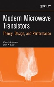 Modern Microwave Transistors: Theory, Design, and Performance (Hardcover)-cover