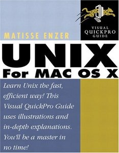 UNIX for Mac OS X: Visual QuickPro Guide (Paperback)-cover