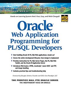 Oracle Web Application Programming for PL/SQL Developers-cover