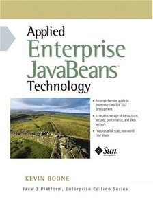 Applied Enterprise JavaBeans Technology-cover