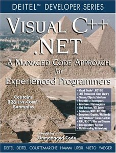 Visual C ++ .NET: A Managed Code Approach for Experienced Programmers-cover