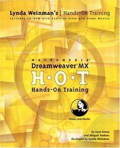 Macromedia Dreamweaver MX Hands-On Training-cover
