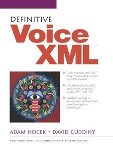 Definitive VoiceXML-cover