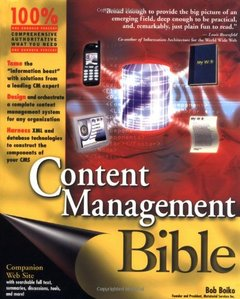 Content Management Bible (Paperback)-cover