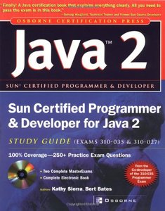 Sun Certified Programmer & Developer for Java 2 Study Guide, 2/e-cover