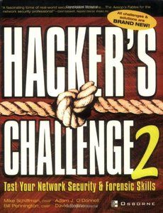 Hacker's Challenge 2: Test Your Network Security & Forensic Skills, 2/e