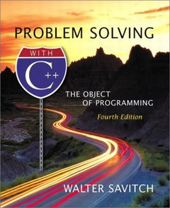 Problem Solving with C++: The Object of Programming, 4/e-cover