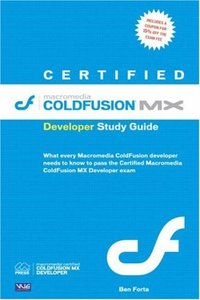 Certified Macromedia ColdFusion MX Developer Study Guide-cover
