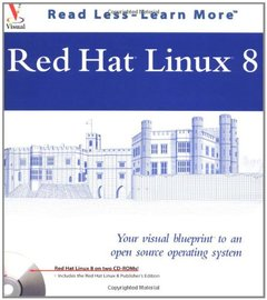 Red Hat Linux: Your Visual Blueprint to Open Source Operating Systems-cover