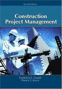 Construction Project Management, 2/e-cover