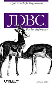 JDBC Pocket Reference-cover