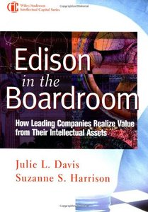 Edison in the Boardroom: How Leading Companies Realize Value from Their Intellectual Assets-cover