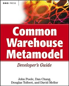 Common Warehouse Metamodel Developer's Guide-cover
