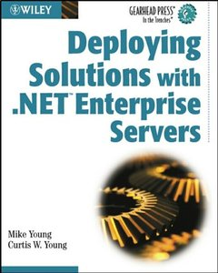 Deploying Solutions with .NET Enterprise Servers-cover