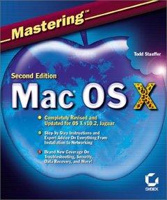 Mastering Mac OS X, 2/e (Paperback)-cover