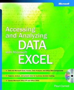 Accessing and Analyzing Data with Microsoft Excel (Paperback)-cover