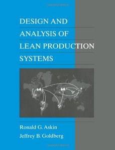 Design and Analysis of Lean Production Systems-cover