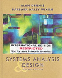 Systems Analysis and Design, 2/e (美國版0471073229)-cover