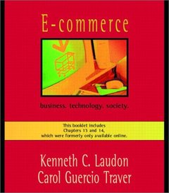 E-Commerce: business. technology. society. Updated Edition-cover