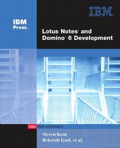 Lotus Notes and Domino R6 Development, 2/e-cover