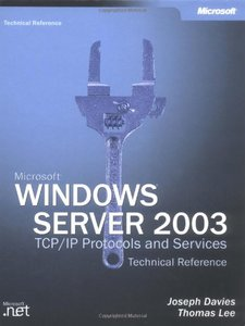 Microsoft Windows Server 2003 TCP/IP Protocols and Services Technical Reference (Hardcover)-cover