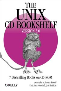 The UNIX CD Bookshelf Version 3.0 (Paperback) 7 Bestelling Books on CD-ROM-cover