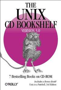 The UNIX CD Bookshelf Version 3.0 (Paperback) 7 Bestelling Books on CD-ROM-cover