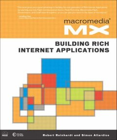 Macromedia MX: Building Rich Internet Applications (Paperback)-cover