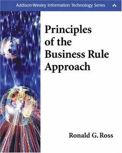 Principles of the Business Rule Approach (Paperback)-cover