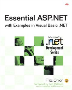 Essential ASP.NET with Examples in Visual Basic .NET (Paperback)-cover