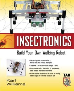 Insectronics: Build Your Own Walking Robot-cover